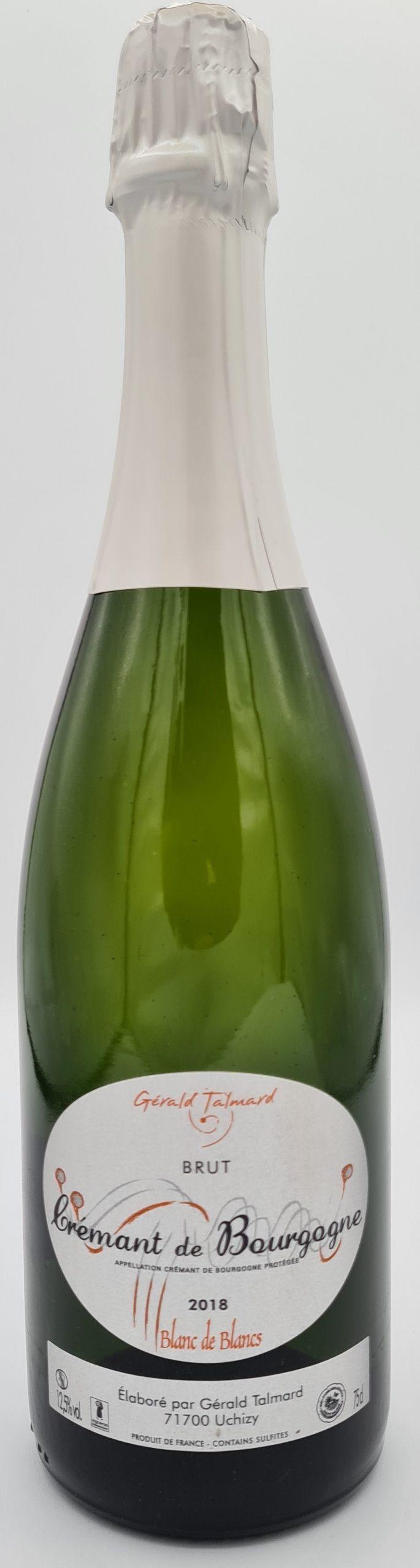 Vin de bourgogne crémant